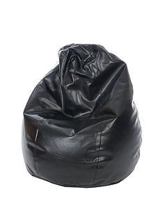 kaikoo-6-cu-ft-faux-leather-teardrop-bean-bag