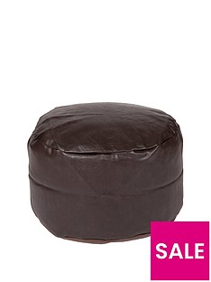 kaikoo-faux-leather-footstool