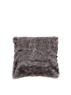 kaikoo-plain-faux-fur-cushion