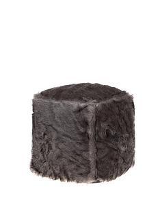 kaikoo-plain-faux-fur-cube
