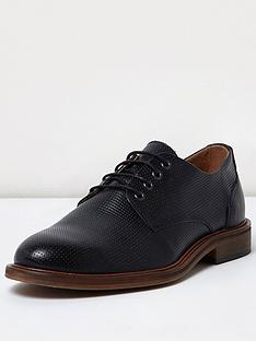river-island-mens-textured-leather-shoe