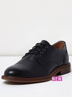 river-island-river-island-mens-textured-leather-shoe