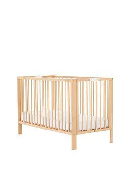 mothercare-folding-cot-beech