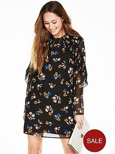 v-by-very-ruffle-printed-dress