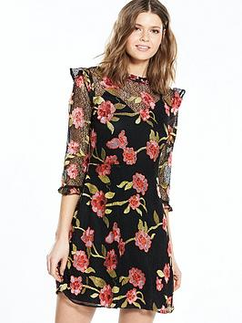 v-by-very-floral-lace-dress