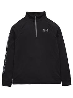 under-armour-under-armour-older-boys-tech-block-12-zip-ls-top
