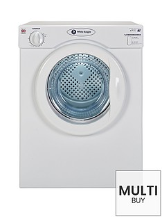 white-knight-c39awnbsp35kg-load-compact-vented-freestanding-tumble-dryer-white