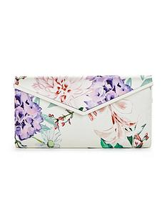 v-by-very-satin-flower-clutch-bag