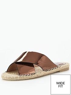 lost-ink-two-strap-wide-fit-slider-sandalsnbsp