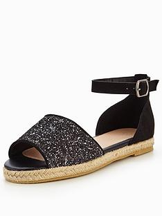 v-by-very-millie-glitter-espadrille-black
