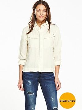 g-star-raw-rovic-cropped-shirt-off-white