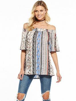 v-by-very-printed-bardot-blouse