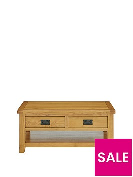 luxe-collection---oakland-100-solid-wood-2-drawer-ready-assembled-coffee-table