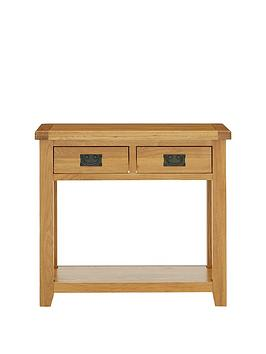 Luxe Collection - Oakland 100% Solid Wood Console Table thumbnail