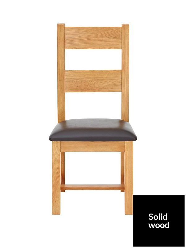 Astounding Pair Of Oakland Solid Wood Dining Chairs Cjindustries Chair Design For Home Cjindustriesco