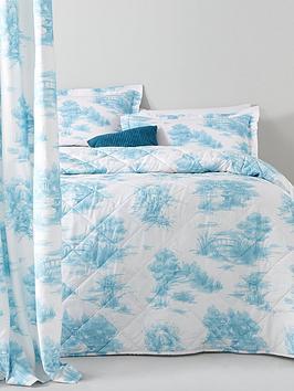 catherine-lansfield-avignon-vintage-toile-duvet-cover-set