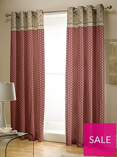 catherine-lansfield-kashmir-lined-eyelet-curtainsnbsp