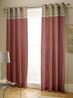 catherine-lansfield-kashmir-pleated-curtains