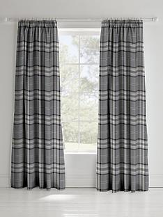 catherine-lansfield-kelso-check-lined-pencil-pleat-curtains