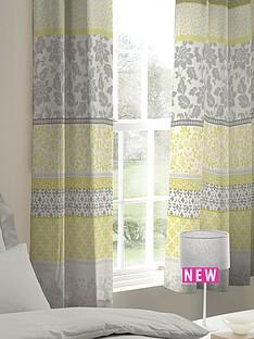 catherine-lansfield-oriental-birds-eyelet-curtains
