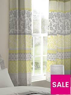 catherine-lansfield-oriental-birds-lined-eyelet-curtains