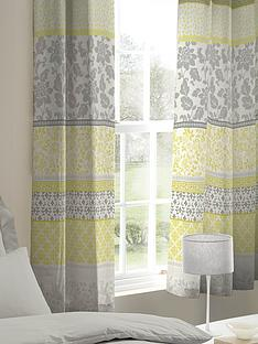 catherine-lansfield-oriental-birds-lined-eyelet-curtainsnbsp