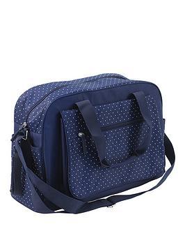 summer-infant-changing-bag--navy-polka-dot