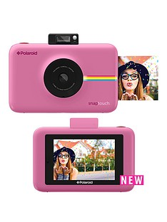 polaroid-polaroid-snap-touchtrade-instant-print-digital-camera-with-lcd-display--blush-pink