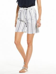 v-by-very-linen-stripe-short
