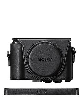 Sony Sony Jacket Case For Cybershot Hx90/Wx500 Camera - Black