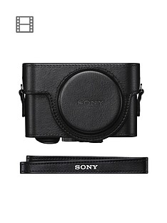 sony-sony-leather-jacket-case-for-cybershot-rx100-series-black