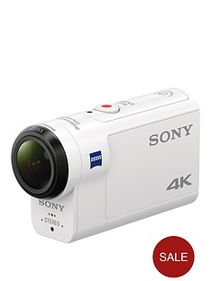 sony-fdr-x3000r-4k-action-cam-with-steadyshot-and-live-view-wrist-remote-white