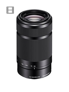sony-sony-sel55210-e-mount-aps-c-55-210mm-f45-63-telephoto-zoom-lens-black