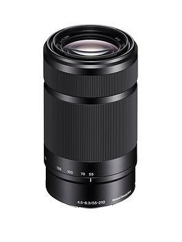 sony-sony-sel55210-e-mount-aps-c-55-210mm-f45-63-telephoto-zoom-lens-black