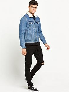 river-island-borg-lined-denim-jacket