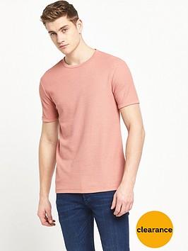river-island-waffle-textured-tshirt