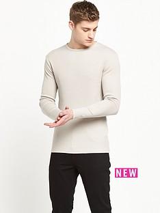 river-island-long-sleeve-rib-tshirt