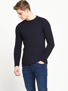 river-island-rib-knitted-jumper