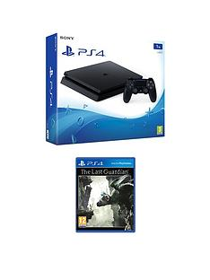 playstation-4-slim-1tb-console-with-the-last-guardian-plus-optional-extra-controller-andor-12-months-playstation-networkrsquo
