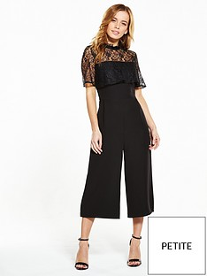 v-by-very-petite-petite-lace-yoke-frill-jumpsuit