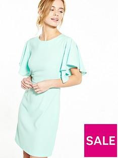 v-by-very-petite-petite-angel-sleeve-woven-dress