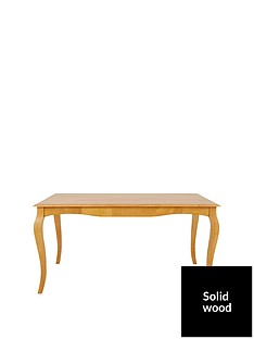 alisha-150-cm-solid-wood-dining-table