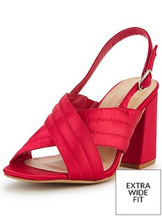 so-fabulous-anna-extra-wide-fit-cross-over-front-heeled-sandal--pink