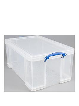 really-useful-box-64lnbspclear-storage-box-with-lid