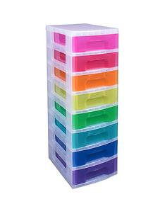 really-useful-box-really-useful-tower-8-x-7l-rainbow-drawers