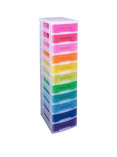 really-useful-box-really-useful-tower-11-x-7l-rainbow-drawers