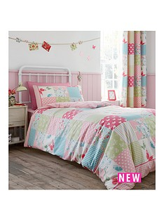 catherine-lansfield-canterbury-check-double-duvet-cover-set