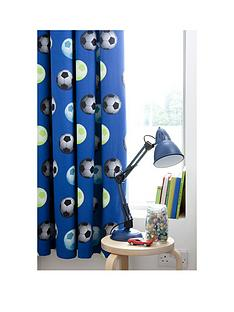 catherine-lansfield-football-lined-curtains