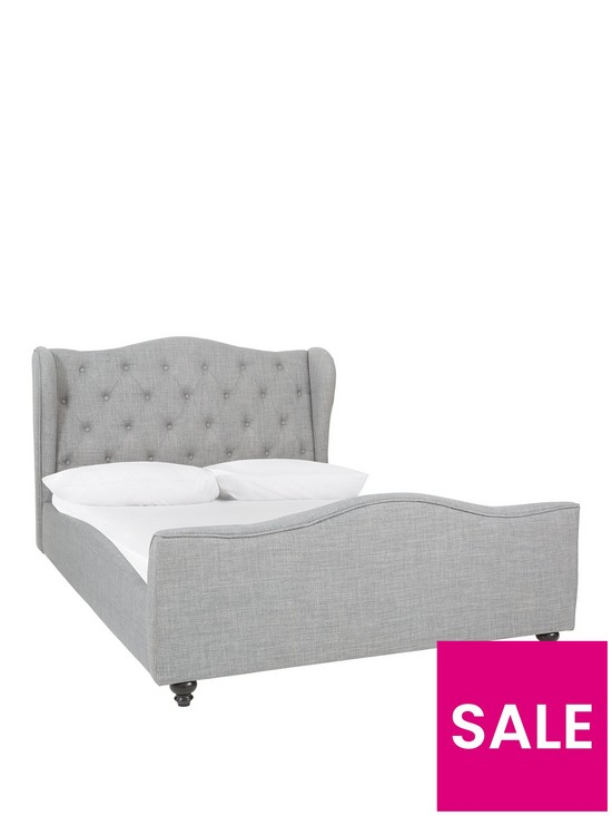Chelmsford Fabric Double Bed Frame With Mattress Options Buy And