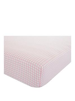 catherine-lansfield-gingham-double-fitted-sheet